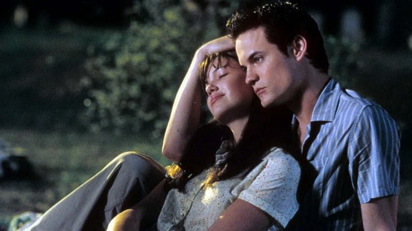 Mandy Moore och Shane West i A Walk to Remember.