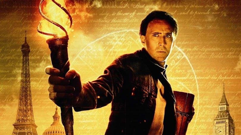 Nicolas Cage i National Treasure.