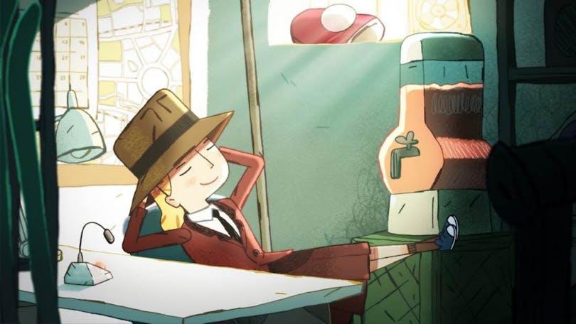 Agatha drömmer sig bort