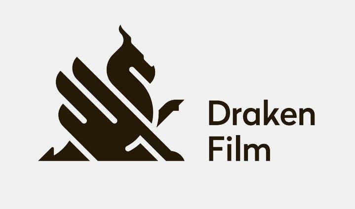 Logotyp för Draken Film.