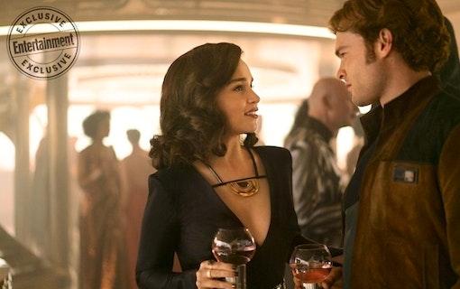 "Emilia Clarke: ""Ron Howard räddade Solo"""