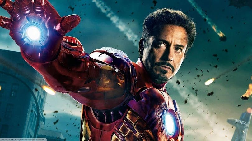 Robert Downey Jr. som Iron-Man