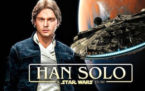 Nya bilder från Han Solo-filmen