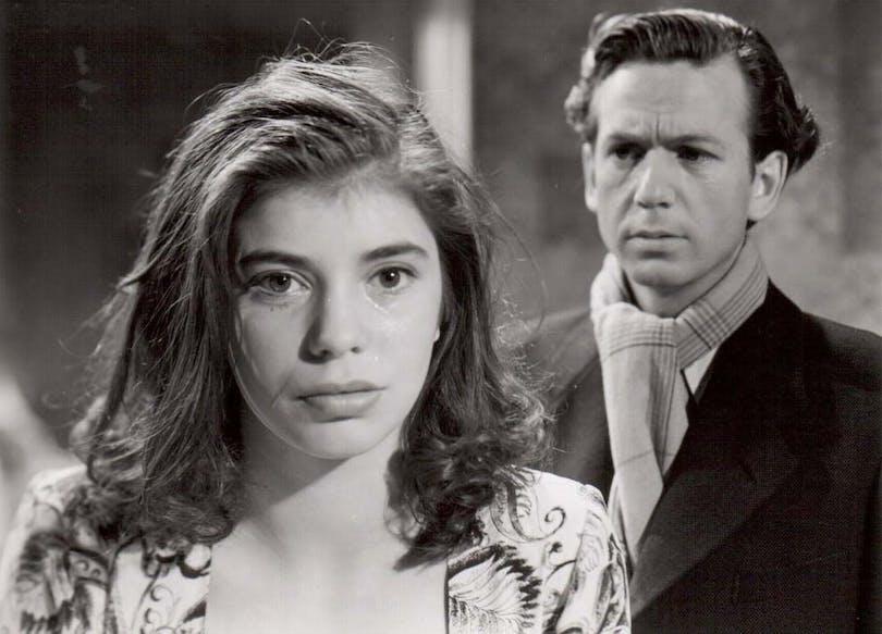 Bild: Svenska Filminstitutet. Stig Olin och Marit Carlqvist i Till glädje av Ingmar Bergman.