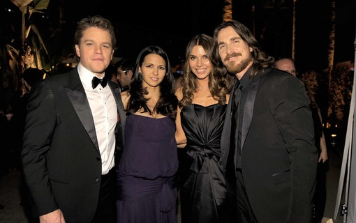 Matt Damon och Christian Bale nära samarbete i ny bilfilm