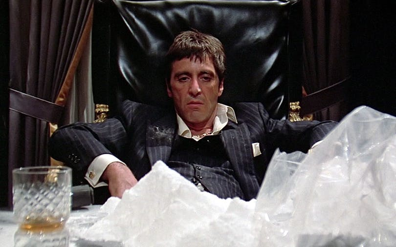 Al Pacino i Scarface från 1983