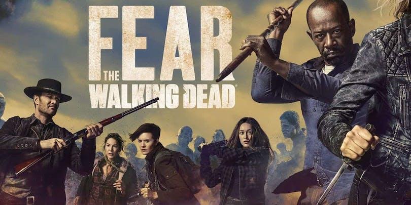 Ny poster till Fear the Walking Dead säsong 4.