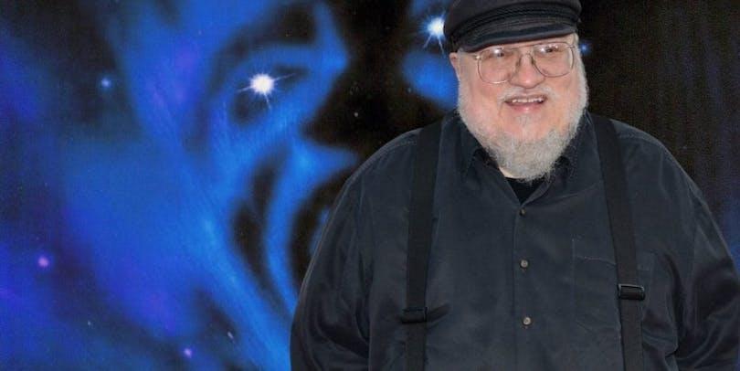 Game of Thrones författaren George R.R. Martin.