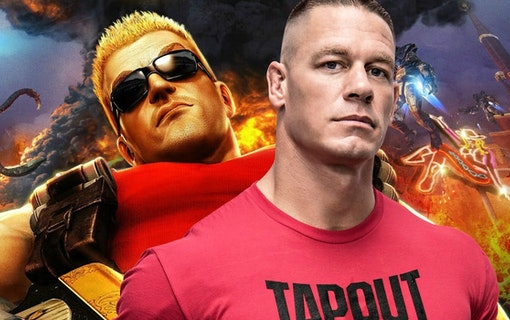 John Cena som spelkaraktären Duke Nukem?