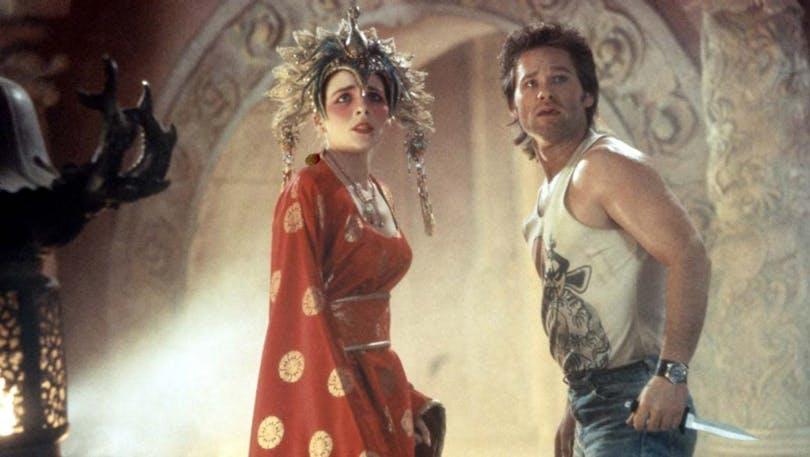 Kurt Russell och Kim Cattrall