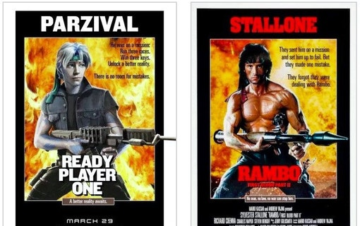 Nya posters till Steven Spielbergs Ready Player One