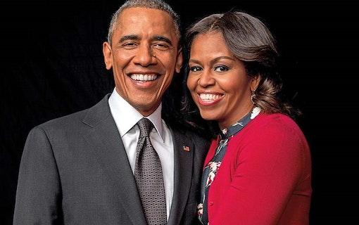 Paret Obama inleder samarbete med Netflix
