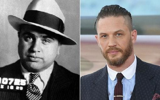 Ny bild på Tom Hardy som Al Capone