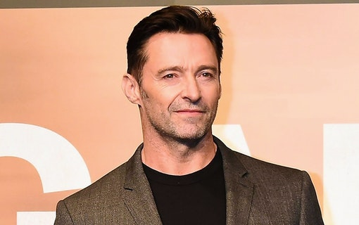 Hugh Jackman aktuell för filmen Bad Education