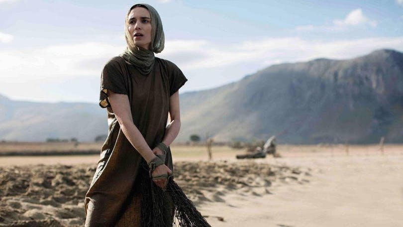 Skådespelerskan Rooney Mara i Maria Magdalena.