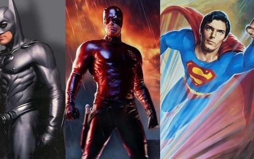 Superfloppar – Filmtopp listar usla superhjältefilmer