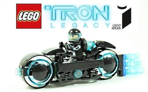 Snart finns Tron: Legacy i lego