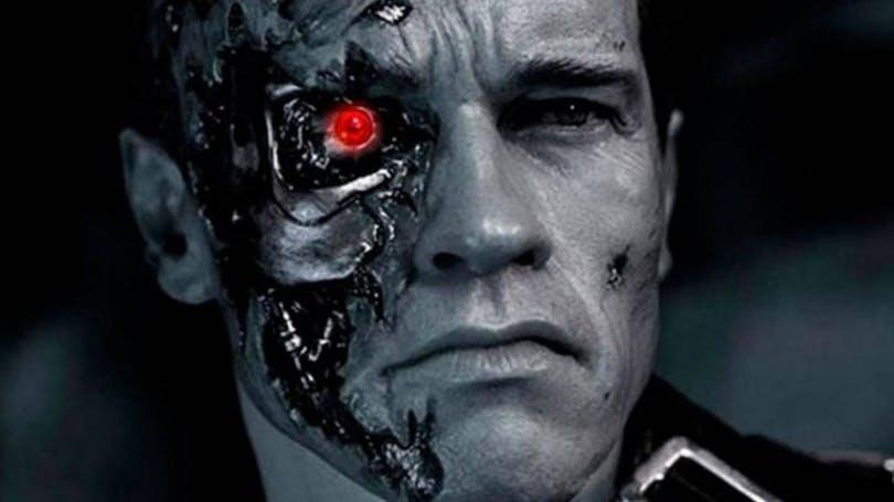 Arnold Schwarzenegger som Terminator.