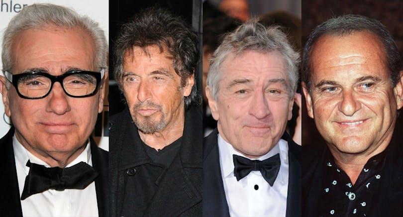 Martin Scorsese, Al Pacino, Robert De Niro och Joe Pesci