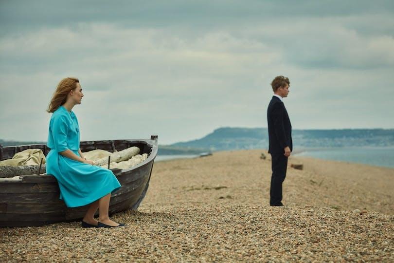 """Saoirse Ronan i """"På Chesil Beach""""."""