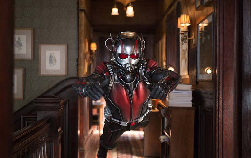 Paul Rudd som Ant-Man.
