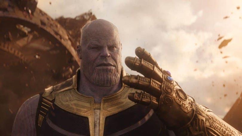 Josh Brolin som Thanos i Avengers: Infinity War.
