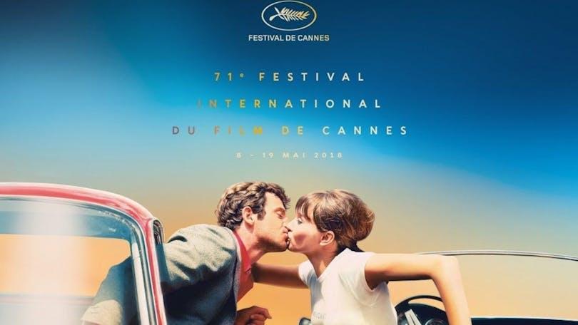 Poster till Filmfestivalen i Cannes 2018.