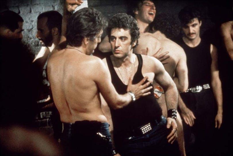 Al Pacino på en undergroundklubb i Cruising.