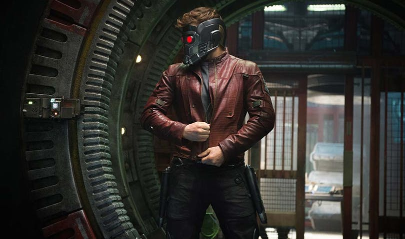 Chris Pratt i Guardians of the Galaxy.
