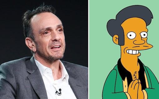 Hank Azaria villig att ge upp Apu från Simpsons
