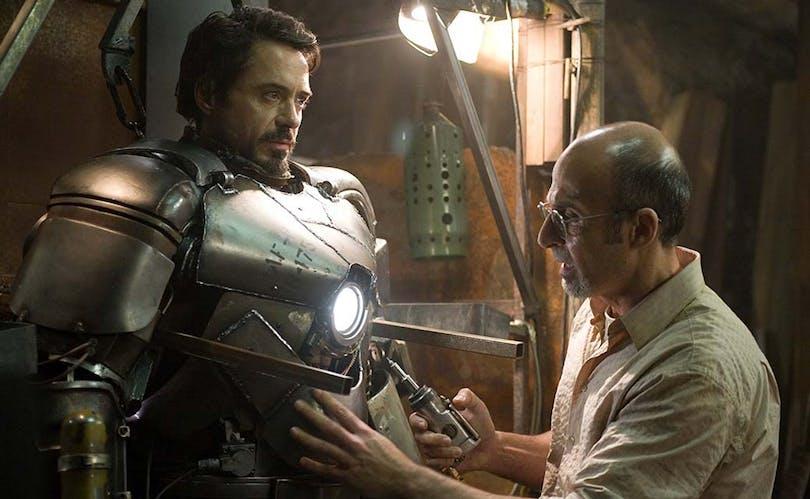 Robert Downey Jr. i Iron Man.