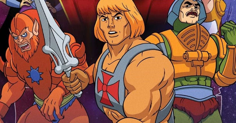 Tv-serien He-Man and the Masters of the Universe.