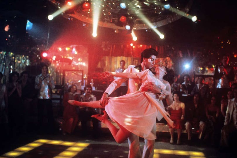 John Travolta i Saturday Night Fever.