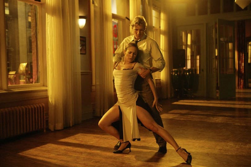 Richard Gere och Jennifer Lopez i Shall we Dance?.