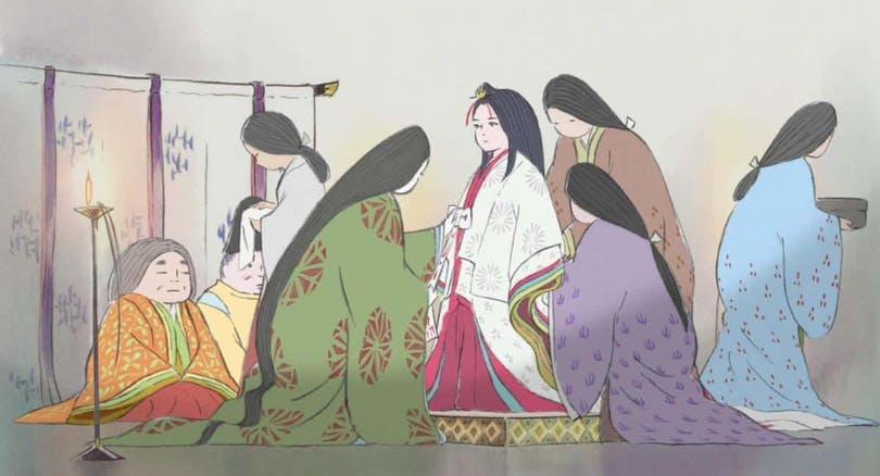 Sagan om prinsessan Kaguya.