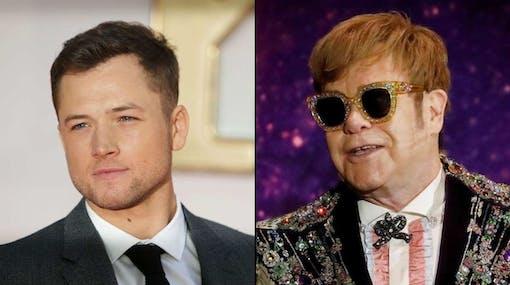 Taron Egerton som Elton John i Rocketman