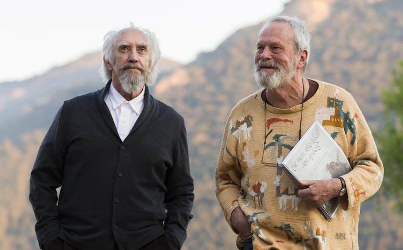 Jonathan Price och Terry Gilliam.