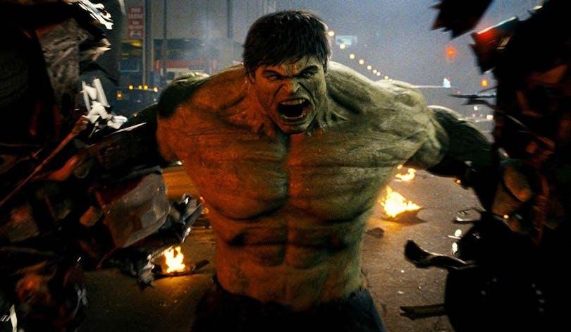 Hulken i The Incredible Hulk.