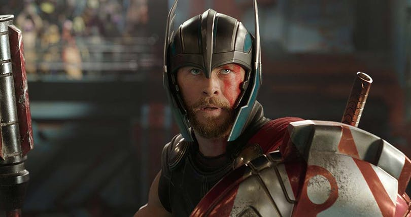 Chris Hemsworth som Thor.