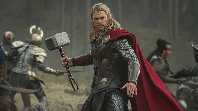 Chris Hemsworth som Thor.