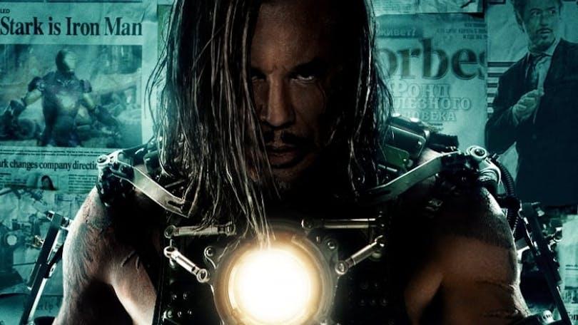 Mickey Rourke i Iron Man 2.