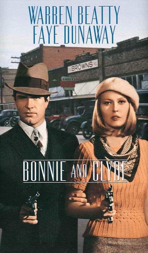 Poster till Bonnie and Clyde (1967).