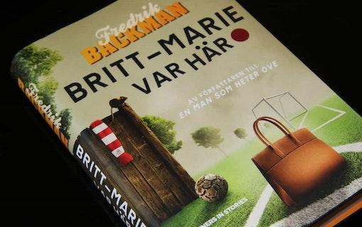 Filmatiseringen av boken Britt-Marie var här har börjat