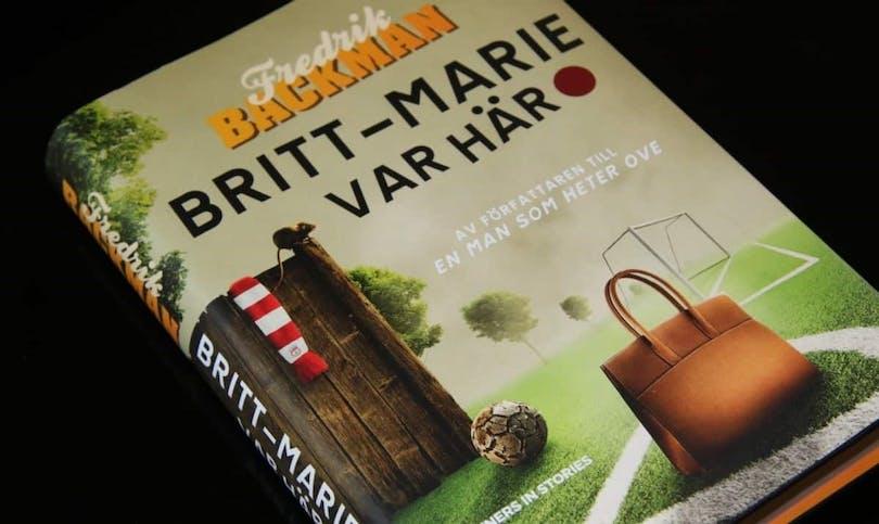 Boken Britt-Marie var här.