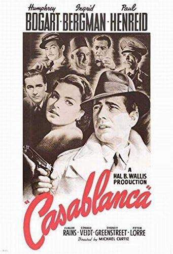 Poster till Casablanca (1942).