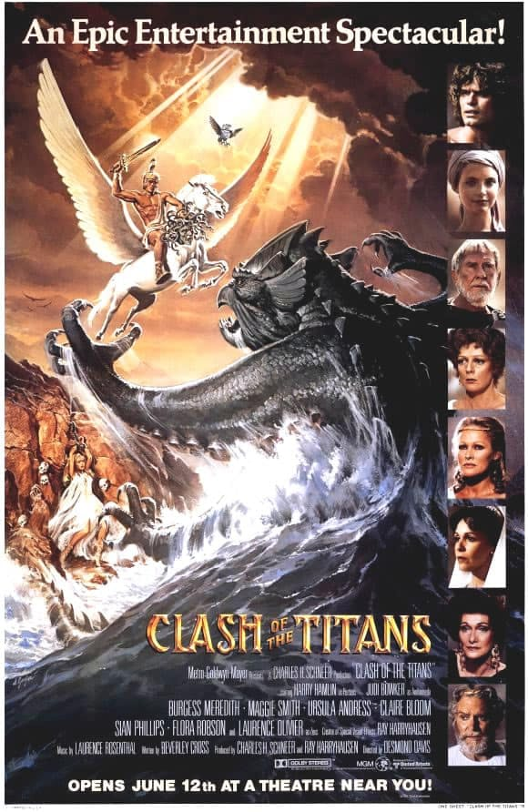 Poster till Clash of the Titans (1981).