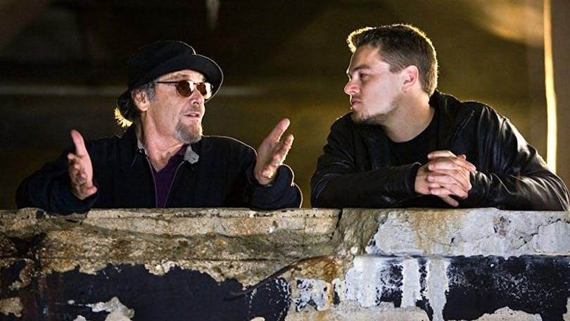 Jack Nicholson och Leonardo DiCaprio i The Departed.
