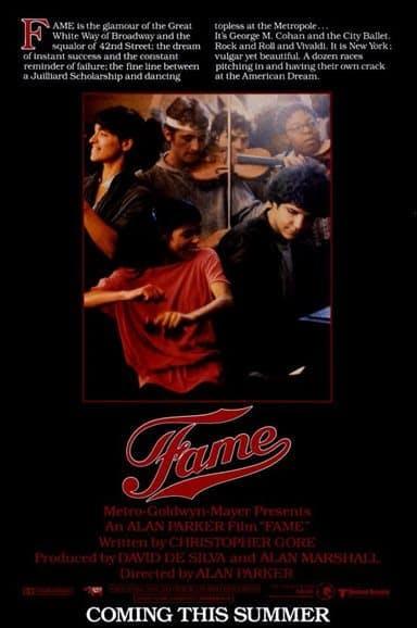 Poster till Fame (1980).