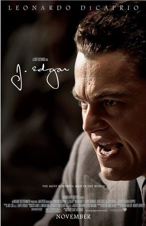 Poster till J. Edgar (2011).