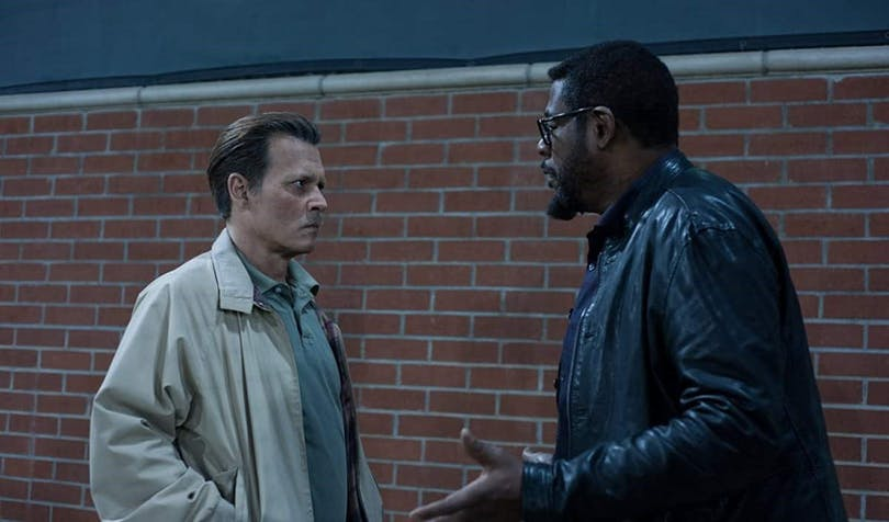 Johnny Depp och Forest Whitaker i City of Lies.